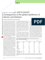 Economic Consequences of Obesity & Diabetes