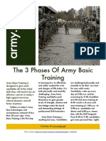 3 Phases of Army Basic Training