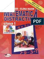 Matematica.distractiva. Clasa.1. Ed.aramis