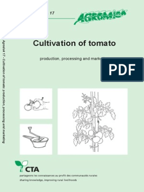 agrodok-17-cultivation of tomato pdf | Organic Farming
