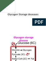 Glycogen Storage Deseases