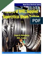 BHEL Supplied Supercritical Steam Turbine