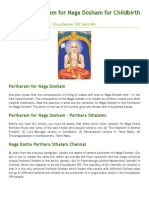 Pariharam for Naga Dosham for Childbirth | Chennai Temples