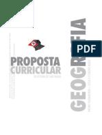 Proposta Curricular - Geografia