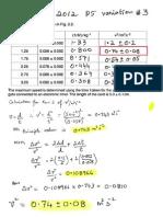 Calculations of Errors - w12qp53
