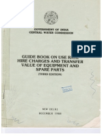 CWC Guidebook for Hirecharge of Machinery