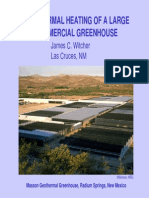 Geothermal Greenhouse Witcher