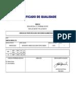 Certificado aço - 1