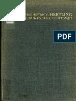 1913 Abhandlungen Aus Dem Gebiete Der Philosophie ... [p17 'Liber XXIV Philosophorum']