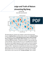 Grand Design and Truth of Nature - Reinventing Big Bang Origin