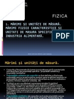 Fizica ( Marimi Si Unitati)-2013-2014