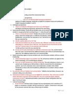 Agent Commission Rules Matrix Analysis