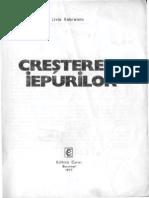 Cresterea Iepurilor - L.rebreanu - 1977 - 156 Pag