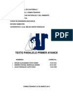 Texto Paralelo Grupo 1, Andres Morales.