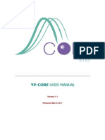 YP CORE User Manual