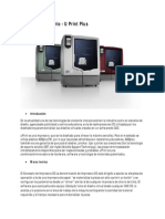 Impresora 3D Por Deposicion Fundida