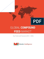 Global Compound Feed Market-By Ingredients, Supplements, Animal Type & Geography- Trends & Forecasts (2014-2020)