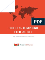 European Compound Feed Market-By Ingredients, Supplements, Animal Type & Geography- Trends & Forecasts (2014-2020)