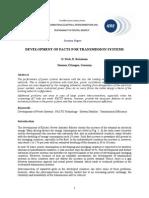 Development FACTS IERE1103