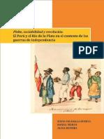 LIBRO. Plebe, Sociabilidad y Revolución, De Daniel MORÁN, Alina SILVEIRA y Silvia ESCANILLA, 2012