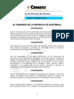 Ley Extincion de Dominio Guatemala
