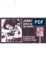 Jerry Sold Us Out