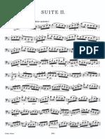 Bach Cello suite no.2