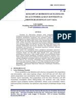 01 Peningkatan Kemampuan Representasi Melalui Pembelajaran Kontestual