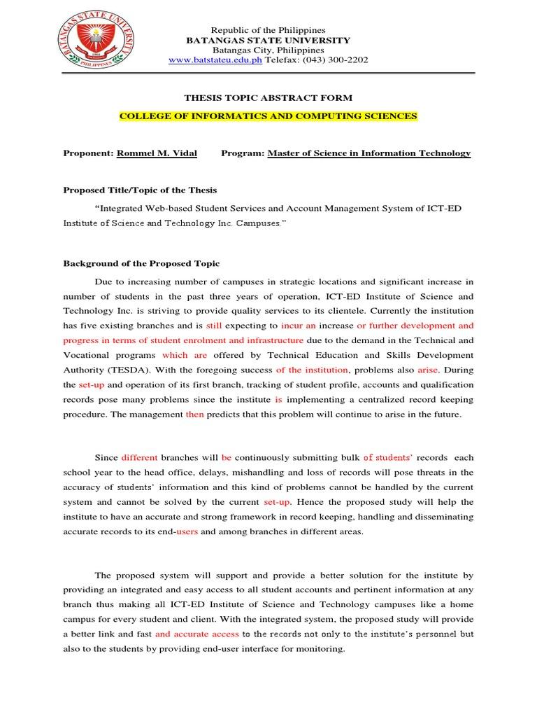Administration dissertation educational philippine