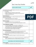 ilarkin - itec 7482 online course prep checklist