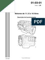 Motor D11 D12 D16 Descrição de Funcionamento