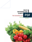 HEALTH-SUSTAINABLE DIET-CLIMATE CHANGE-The Connection and the Solution for Health Professionals 2009 Opt