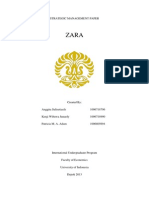 zara swot analysis and tows e commerce strategic management zara final paper