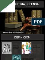 Ppt Constitucion Legitima Defensa