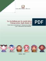 Ministero Dell'Istruzione Politica Pubblica Sull'Interculturalitá