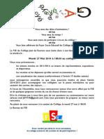 Convocation AG FSE - 27 Mai 2014