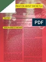 01 Urgent Information About Swine Flu ppt 2009/10