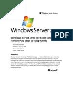 Windows Server 2008 Terminal Services Remoteapp Step-By-Step Guide.pdf