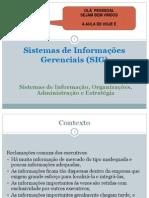 Si 7 - Sistemas de Informações Gerenciais