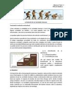 Ficha de Cátedra - La Evolución de Las Sociedades Humanas