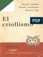 Et Al - El Criollismo