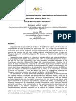 2012 - ALAIC-recuperar Producir Resistir Representaciones sociales de la fábrica recuperada Zanon - Lorena Riffo