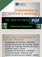 Propiedades de Archivos y Permisos