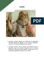 PLATÓN Presentación