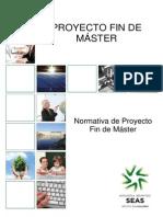Normativa Proyecto Fin de Master