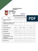 Jadual Pengoperasian Pbs 2014