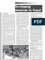 Developing Agroecotourism in Nepal
