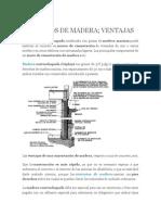 Cimientos de Madera