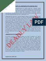 Judicial Review of Administrative Discretion