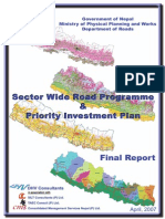 Nepal Department of Roads 2007 Sector Wide Report
